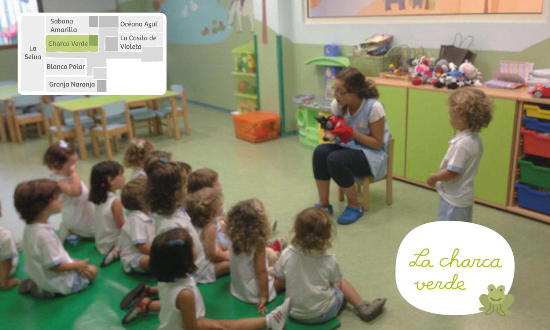 Charca verde Xicotets escuela infantil