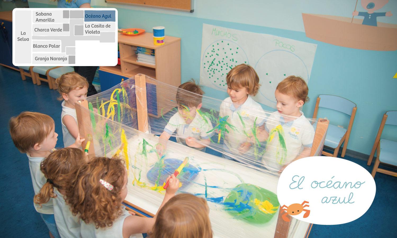 Océano azul Xicotets escuela infantil